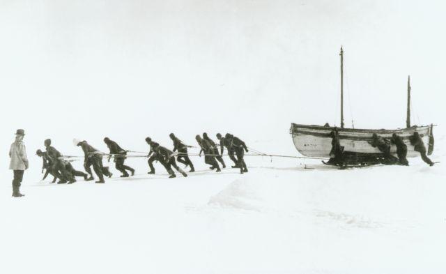 Atrapados en el hielo