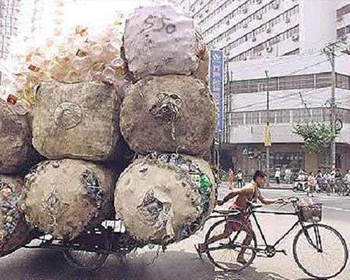 El transporte en bicicleta