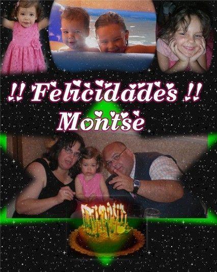 ¡¡ Felicidades Montse!!