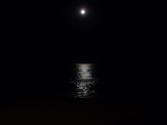 Luna Llena sobre el Mar de Cortés
