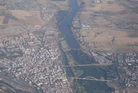 Mérida a vista de pájaro