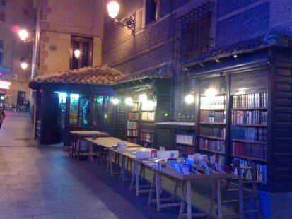 libreria a pie de calle