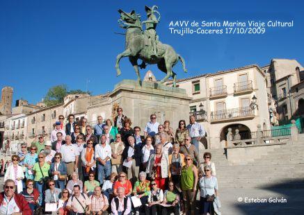 AAVV de Santa Marina, Viaje Cultural Trujillo-Caceres