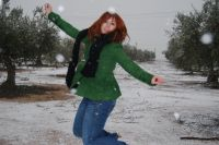 Nevando en Villanueva
