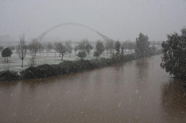 Guadiana y Lusitania nevados