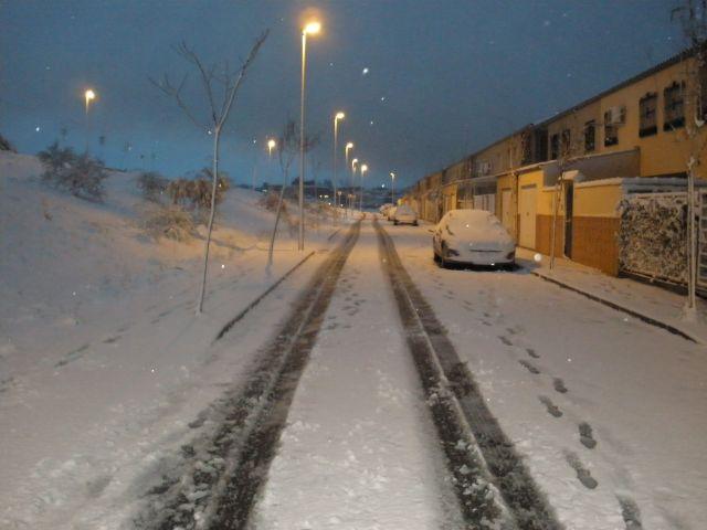 Mi calle nevada