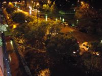 Tormenta de granizo en Cáceres
