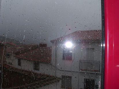 Lluvia en Helechosa