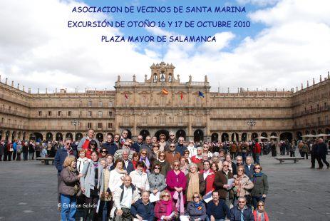 AAVV de Santa Marina/Excursión de otoño Salamanca