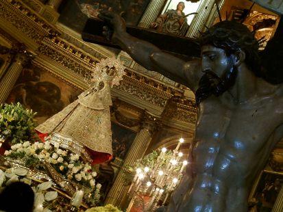 virgen de guadalupe con cristo