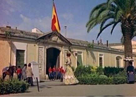 Pelicula La Guerra empieza en Cuba y el Parque de Ingenieros