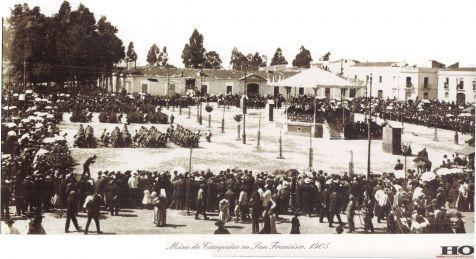 Plaza de San Francisco y el Parque de Ingenieros