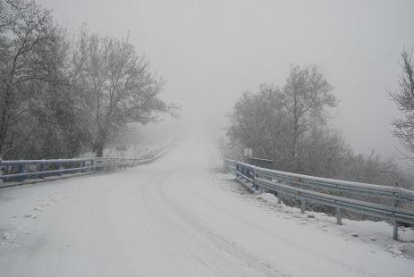 Nieve en Tornavacas