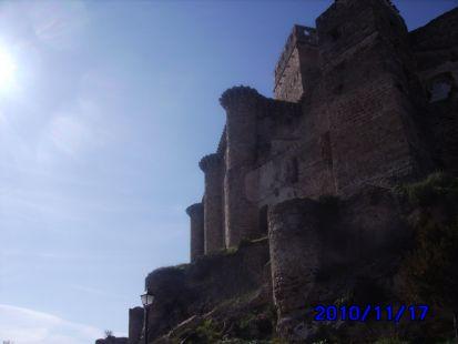 castillo visto de abajo