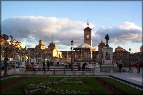 Plaza Cervantes-Alcala Henares