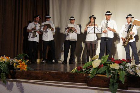 Primer concierto de la charanga