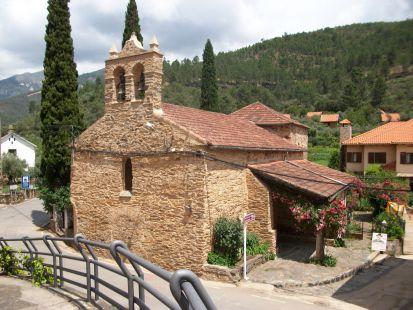 iglesia de Las Mestas,Ladrillar,Las Hurdes.