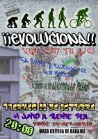 Masa Crítica de Badajoz viernes 28 de octubre