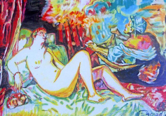 Venus en la cama