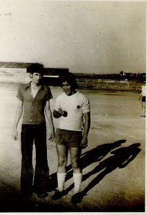 PARTIDO DE FUTBOL ENTRE EMIGRANTES Y EL QUINTANA (año 1972)