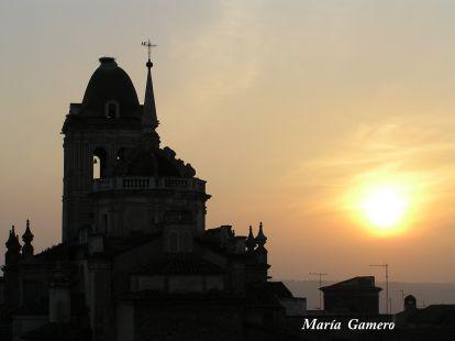Puesta de sol en Santa María