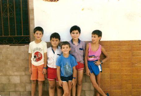 quico, jose, juan, jose y marce a finales de los 80
