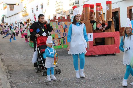 CARNAVAL 2012-Familia Pitufo