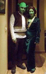 Shrek Y Fiona se van de marcha!!