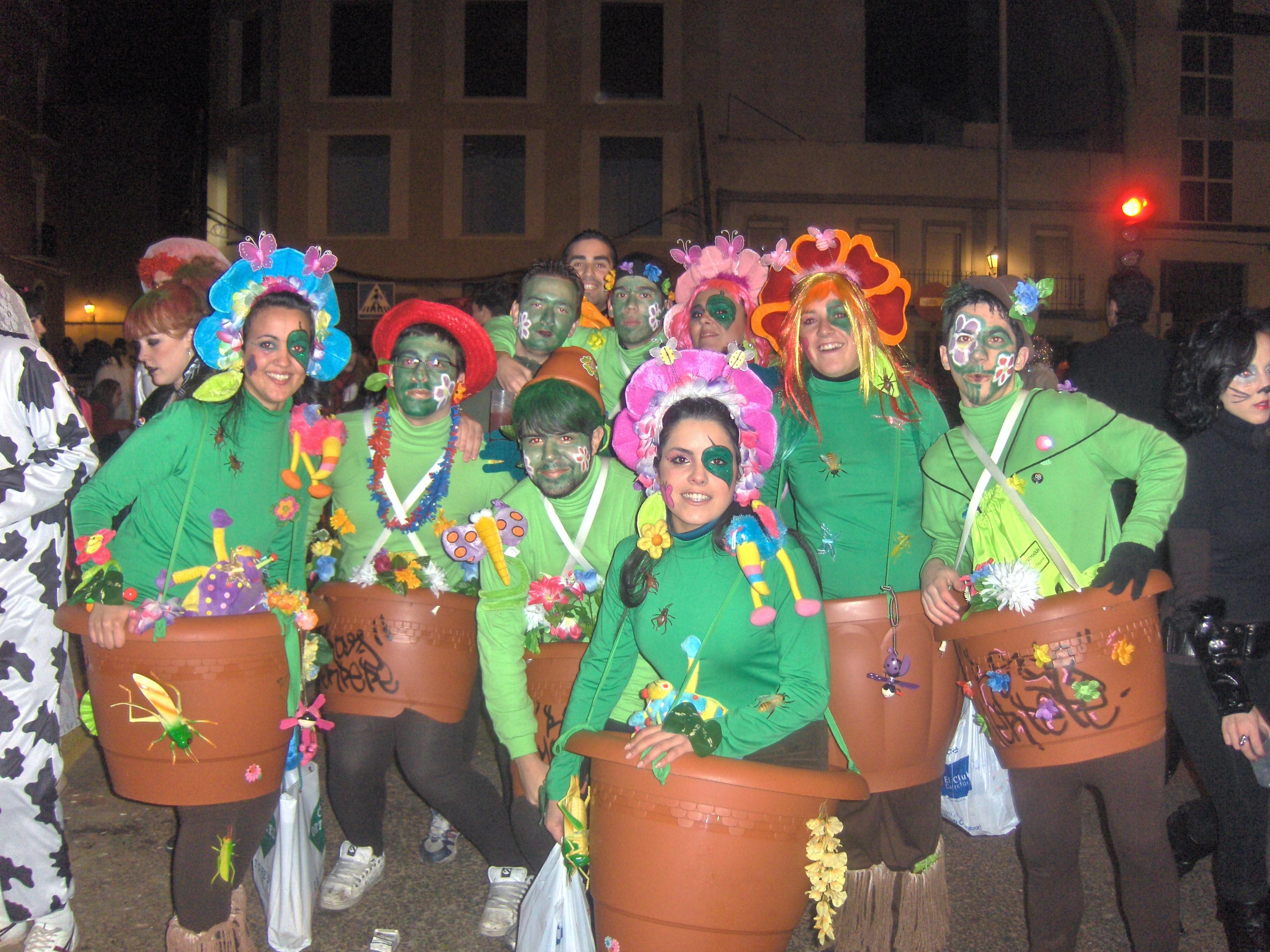Macetas de colores fotos de concurso de disfraces del - Trajes de carnavales originales ...