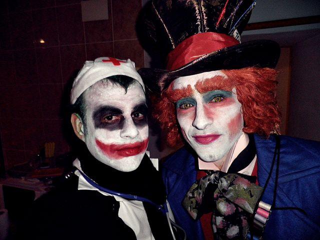 Joker y Sombrerero