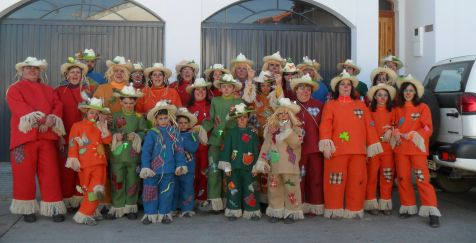 GRAN FAMILIA DE ESPANTAPAJAROS