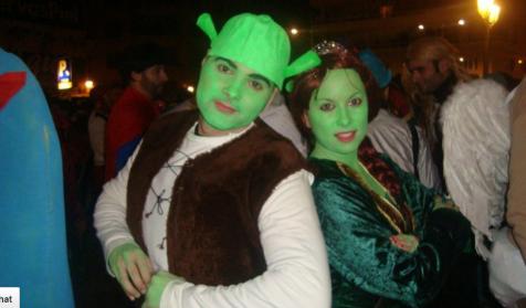 Shrek Y Fiona en Badajoz