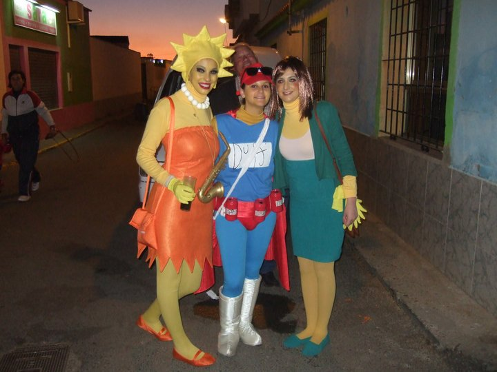Simpsons Fotos De Concurso De Disfraces Del Carnaval De Badajoz - Disfraces-simpsons