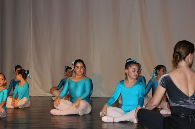 Clausura curso de danza 2012