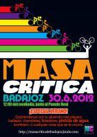 Masa Crítica de junio en Badajoz