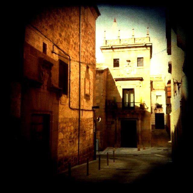 Casa de los Almaraz y fachada de las Capuchinas