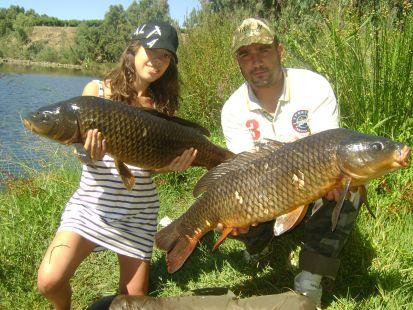 Gran día de pesca