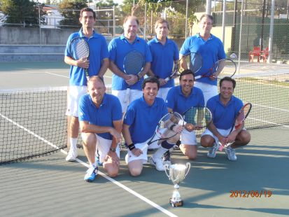 El Casino de Badajoz, campeón de veteranos