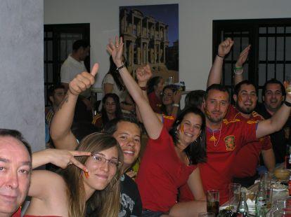 Celebración Eurocopa-2012