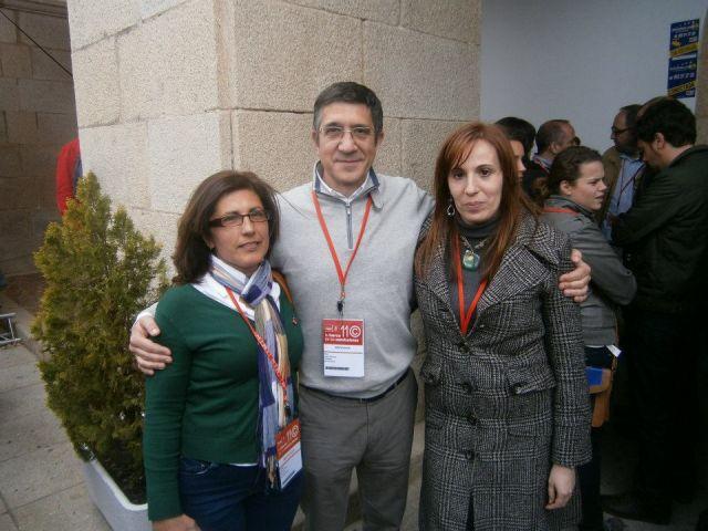 con Patxi Lopez