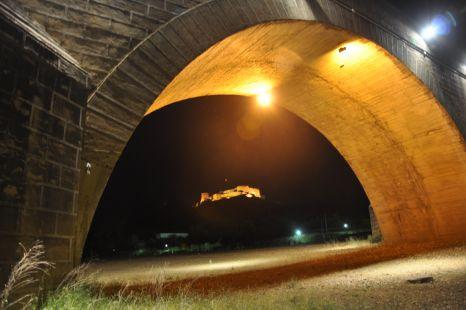 Medellin,Castillo iluminado