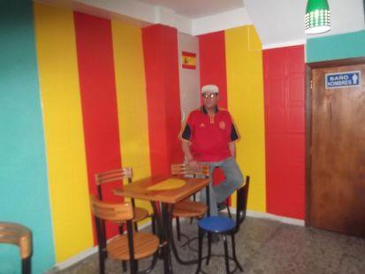 CAFE BAR EL ESPAÑOL . EL PUNTO D, ANGEL