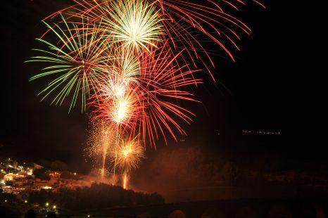 Medellin,Fuegos Artificiales Ferias 2012