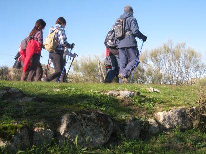 Por la Calzada Romana a su Paso por Casar de Cáceres