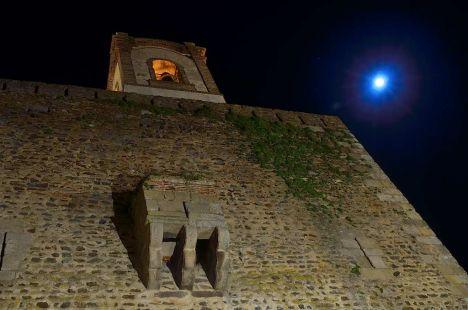 La luna y el castillo