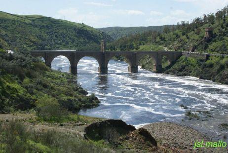 Crecida del Río Tajo, Alcántara-Cáceres