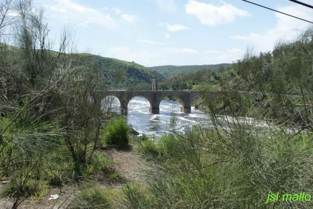 Crecida del Río Tajo ll, Alcántara-Cáceres