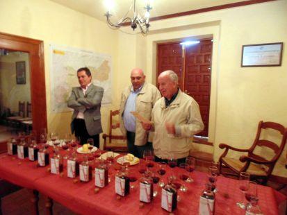 Jurado del concurso de vino