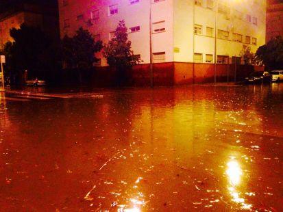 De nuevo se inunda la Barriada Suerte de Saavedra