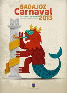 Cartel del Carnaval de Badajoz 2013